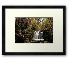 Strickland Avenue Falls,South Hobart,Tasmania Framed Print