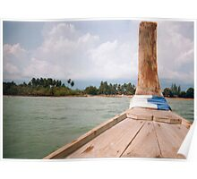 Thai Boat Poster