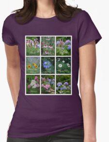 Photographer's Perennial Garden Collage T-Shirt