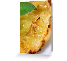 Flammkuchen Lemon Styled Greeting Card