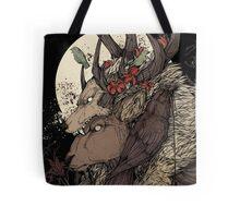 The Elk King Tote Bag
