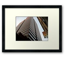 Cinci Bank Building Framed Print