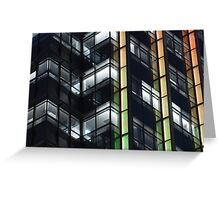 modern office building Greeting Card