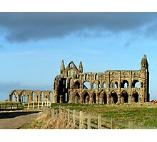 Whitby Abbey ruined yet still glorious Photographic Print