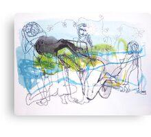 Ink & Thread Canvas Print