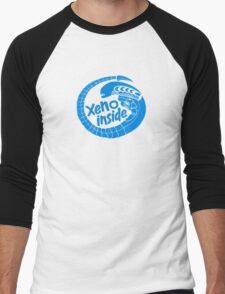 Xeno inside - large blue T-Shirt
