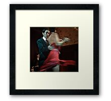 Tango - it takes two Framed Print