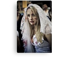 Nice Day for a White Wedding Canvas Print