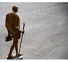 Mahatma Gandhi - Spiritual &Political Leader and Humanitarian Photographic Print