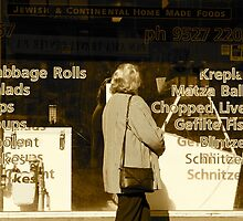 The Old Kosher Deli by Ronald Rockman