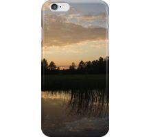 Hot Summer Sunset at the Farm iPhone Case/Skin