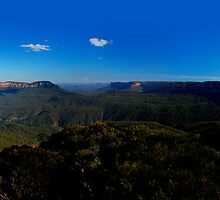 Jamison Valley, New South Wales. by Andy Newman