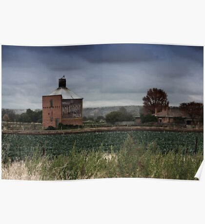 The Old Chicory Kiln, Bacchus Marsh Poster