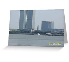 pagoda on the Ancient Pearl River Greeting Card