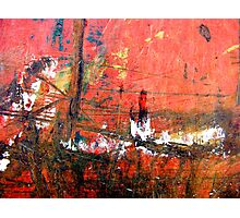 Sunset on the Docks Photographic Print
