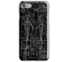 Mechtorian Plans ( Black Version ) iPhone Case/Skin