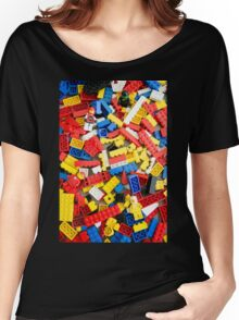 Brick Space Women's Relaxed Fit T-Shirt