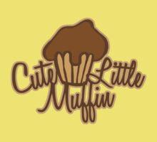 Cute Little Muffin Kids Tee