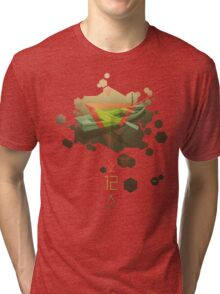 SINKING TO NEW HEIGHTS Tri-blend T-Shirt