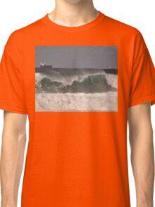 Waves & Ships, Werrong Beach, Australia 2014 Classic T-Shirt