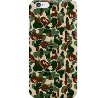 bape military  iPhone Case/Skin