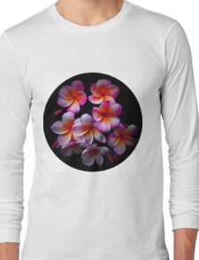 Plumeria Blossoms Long Sleeve T-Shirt