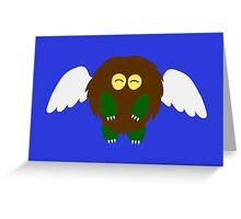 Winged Kuriboh Greeting Card