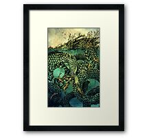 River Dragon Framed Print