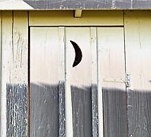 crescent moon by Lynne Prestebak