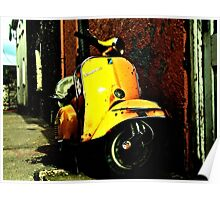 Vespa On Acid Poster