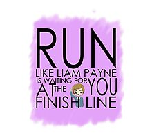 run because liam payne Photographic Print