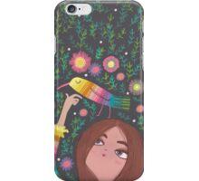 RAINBOW BIRD AND GIRL iPhone Case/Skin