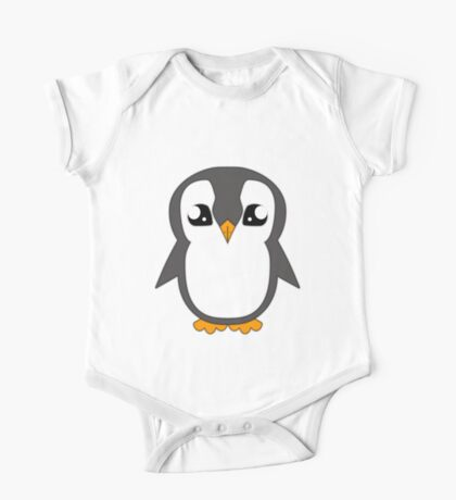 Mr Penguin Rehatched One Piece - Short Sleeve