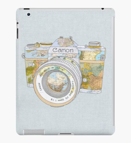TRAVEL CAN0N iPad Case/Skin