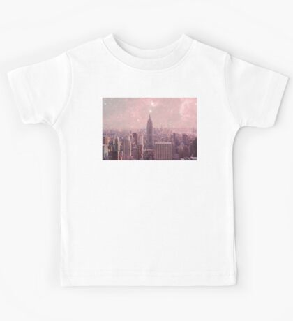 Stardust Covering New York Kids Tee