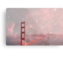 Stardust Covering San Francisco Metal Print