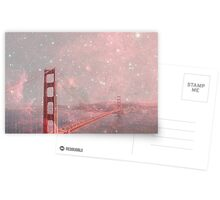 Stardust Covering San Francisco Postcards