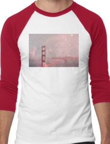 Stardust Covering San Francisco Men's Baseball ¾ T-Shirt