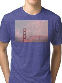 Stardust Covering San Francisco Tri-blend T-Shirt