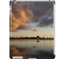 Boats and Clouds Summer Sunset iPad Case/Skin