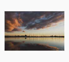 Boats and Clouds Summer Sunset Kids Clothes
