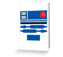 R2D2 Greeting Card