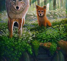 """""""Hunting Lessons"""" by Charles  Wallis"""