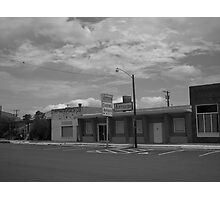 Once They Sold Groceries There Photographic Print