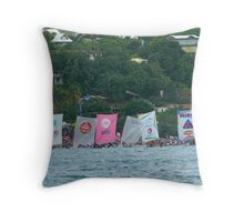 Yoles Rondes - Martinique, F.W.I. Throw Pillow