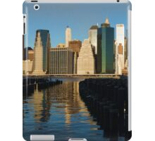 New York City Morning Reflections - Impressions Of Manhattan iPad Case/Skin