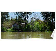 Restful Retreat - Murray River Poster