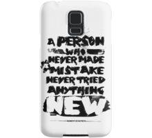 Quote Albert Einstein Samsung Galaxy Case/Skin