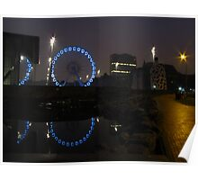 Middlesbrough eye reflections Poster