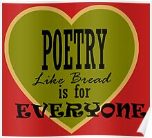 Poetry is for Everyone ... Poster